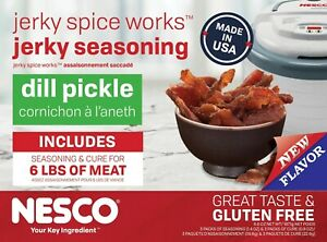 Nesco Brand Beef Jerky Seasoning Spice Cure Makes 6 pounds PICK YOUR FLAVORS!