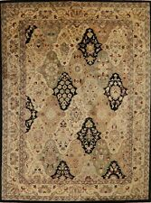 Garden Design Agra Oriental Area Rug Wool Hand-Tufted Home Decor Carpet 9'x12'