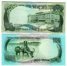 Sud south vietnam 100 Dong 1972 AUNC p 31