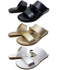 Michael Kors Womens Millie Slide Double-Band Open Toe Fashion Sandals Shoes