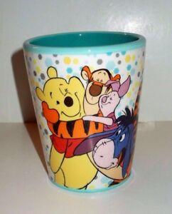 (READ) Disney Winnie the Pooh 8 oz Ceramic Tumbler by Westland Giftware #19651