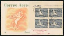 Mayfairstamps Habana FDC Bird Block Horse With Wings First Day Cover wwm_39935