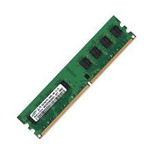 2GB SAMSUNG N378T5663EH3-CF7 PC2-6400U 800MHz Non-ECC DDR2 Desktop Memory