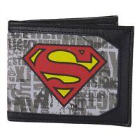 Superman - Logo Canvas Bi-Fold Wallet