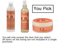 Shea Moisture Coconut & Hibiscus KIDS Hair Care  Products - YOU PICK !!