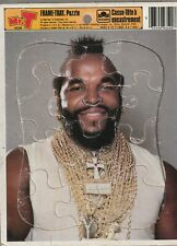 1984 GOLDEN MR.T FRAME-TRAY PUZZLE - New/Sealed