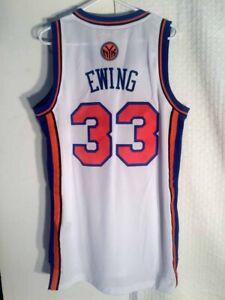 Adidas Swingman NBA Jersey New York Knicks White Patrick Ewing sz 4X