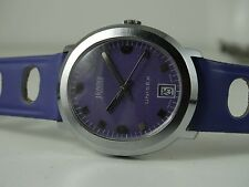 COLLECTABLE JENNY NON CARIBBEAN SWISS WATCH FANCY DIAL NOS CONDITION