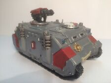 Rhino Razorback Inquisition Grey Knights Tank Painted Warhammer 40k
