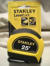 Stanley 25 ft. Leverlock Tape Measure