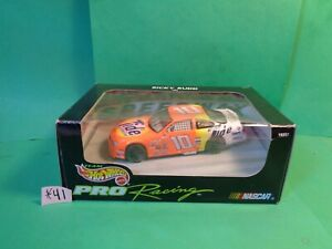 Hot Wheels 1997 Die Cast Pro Racing Car 1/43 Ricky Rudd, #10 Tide, Ford (New)