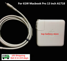 OEM Original 61W USB-C Power Charger Adapter for  MacBook PRO 13 inch A1718