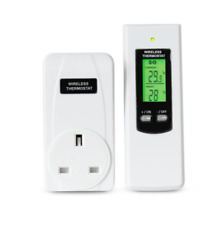 Wireless Heating & Cooling Outlet Thermostat Wireless Temperature Controller Us