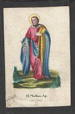 HL. Matthias – altkolorierter ACCIAIO CHIAVE-Praga, Maulini del 1845