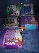 NIP Jay Franco Fabric Shower Curtains Angry Birds Monster U Monster Jam Sofia Do