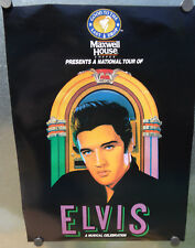 VINTAGE ELVIS PRESLEY~MAXWELL HOUSE COFFE~ ADVERTISEMENT POSTER         vp70