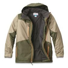 Columbia Men's Antimony Insulated Waterproof Zip Hooded Jacket Big & Tall 1X