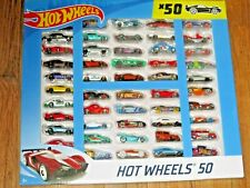 HOT WHEELS ~ 50 ~ CAR GIFT PACK ~ GBN20 ~ NEW! ~ UNOPENED!