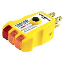 Ideal Electrical 61-501 Gfi Receptacle Tester/120Vac