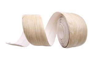 Skirting Board -Flexible - Self Adhesive tape 5 10 15 20 meters Light washed Oak