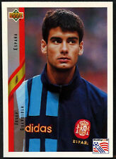 Josep Guardiola, Spain #155 World Cup USA '94, (Eng/Ger) Card (C385)