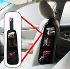 Practical Universal Black Car Seat Side Storage organizer Pocket Net Bag Holder