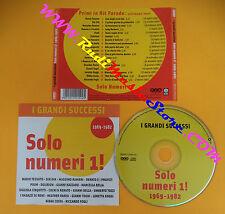 CD Compilation Solo Numeri 1! 1969-1982 POOH RANIERI TOZZI no lp mc dvd vhs(C26)