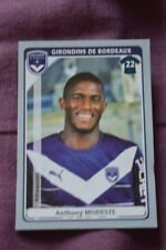 VIGNETTE PANINI FOOT FOOTBALL 2011 12 // N°74 ANTHONY MODESTE
