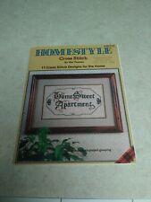 1982 Plaid Enterprises Homestyle Cross Stitch 23 Pages