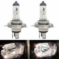 2X H4 100w Xenon Super Standard Clear Halogen Headlight Lamps Light Bulbs 12v uk