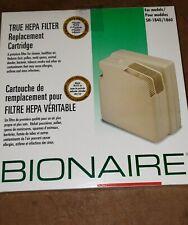 Bionaire True Hepa Filter Replacement Cartridge Model A1801H Nob Nib