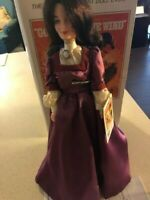 "Vintage 1989 ""Melanie"" Doll 12-inch Gone With The Wind By World Doll w/COA stand"