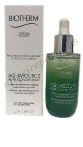 Biotherm Aquasource Aura Concentrate Intense Hydration & Glow 1.69 oz/50 ml TST