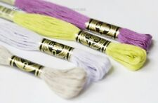 NEW ARRIVAL!! 35 NEW COLORS DMC EMBROIDERY FLOSS #01-#35 8 metres 6 strands G