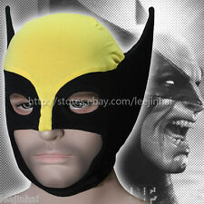 Wolverine cotton Rib fabrics mask X-Men mask