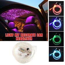 12V Decorate Car Headliner Roof Ceiling Light Audio Fiber Optic Star Light Kit