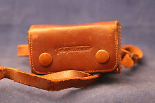 Voigtlander Leather Case for Vito Hood & 2 Filters 060/06 w/Strap