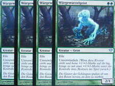 XXX 4x torcerò radice spirito Strangleroot spirito tedesco Dark Ascension (Haste) NM/M