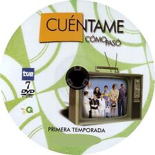 "ESPAÑA,SERIES,""CUENTAME COMO PASO"" 1RA, 2DA, 3RA, 4TA, 5TA Y 6TA TEMP. 28 DVD"