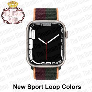 New Sport Solo Loop For Apple Watch Band Nylon Loop Bracelet SE 7 6 5 4 3 2 1