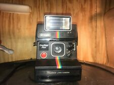 Polaroid One Step Plus Rainbow SX-70 w/ Q-Light ORIGINAL CARRY CASE