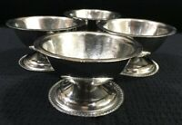 Gemco ABC Stainless Steel 18-8 Dessert Bowls 4 Oz Set Of 4 Vintage Japan