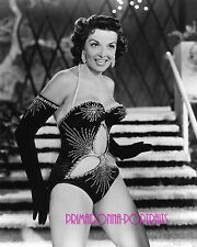 "JANE RUSSELL 8X10 Lab Photo '40 ""THE OUTLAW"" SEXY Shimmering Costume Film Debut"