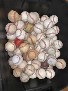 Fifty (50) Used Baseballs