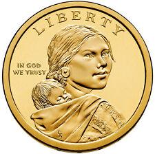 2015 P D Native American Dollar BU Coins 2 Coin Set Uncirculated