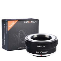 K&F Concept M42-FX Lens Adapter Ring for M42 Lens to Fujifilm X FX Mount Cameras