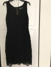 Women's Guess Black Lace Dress Size 6