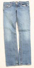 """Hollister Blue Jeans Pants Solid Women's Cotton Spandex 9 Nine Stretch 32 x 32"""""""