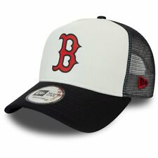 New era 9 Forty a-frame Trucker Cap-Boston Red Sox