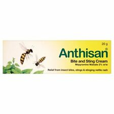 Anthisan 25g Insect Bite & Nettle Sting Relief Antihistamine Cream